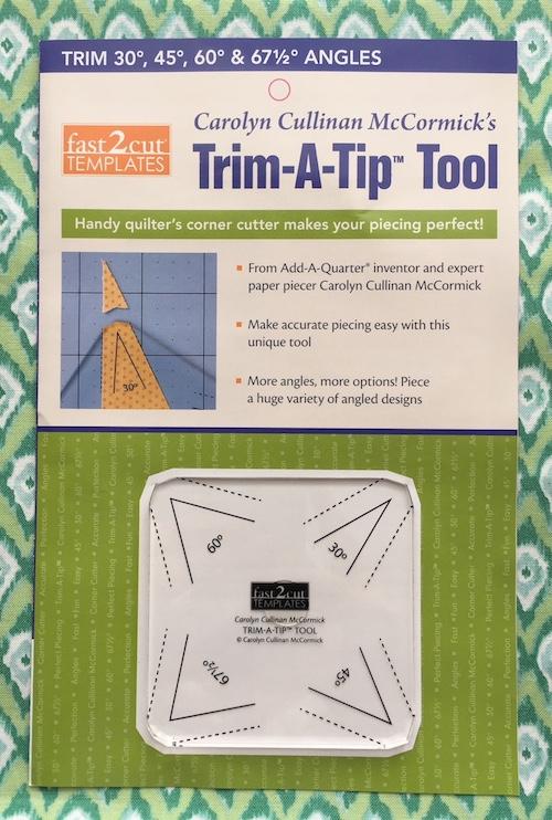 Trim-A-Tip tool by Carolyn Cullinan McCormick