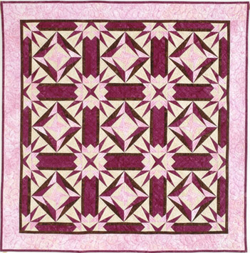 Chocolate & Strawberries Quilt Pattern