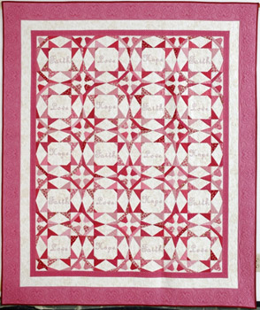 Faith, Hope & Love Quilt Pattern
